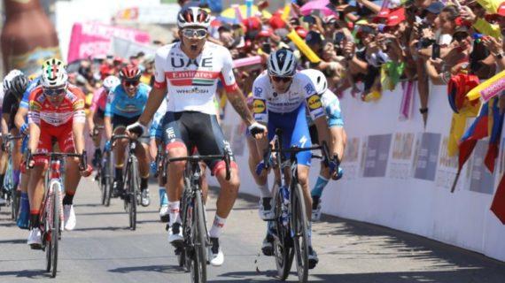 Molano aumentó en casa la fiebre del Tour Colombia 2.1