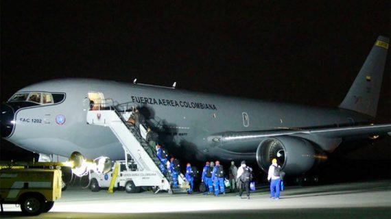 Avión Júpiter 767 de la Fuerza Aérea Colombiana despegó hacia China para traer a 14 colombianos
