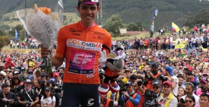 Sergio Higuita, campeón del Tour Colombia 2.1