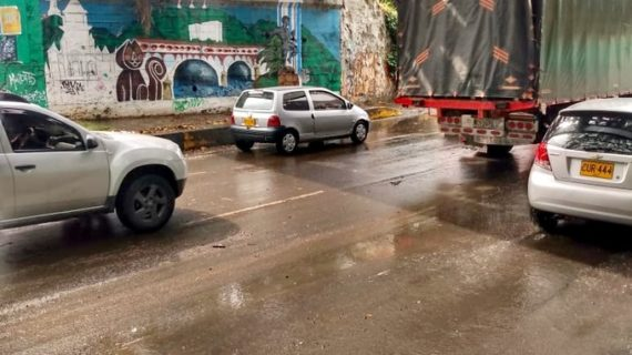 Alcaldía de Cali y Emcali atendieron situación ocasionada por las lluvias en el norte de la ciudad