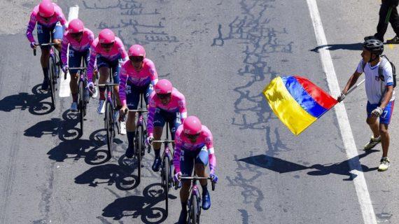 El Education First se impuso en la CRE del Tour Colombia 2.1
