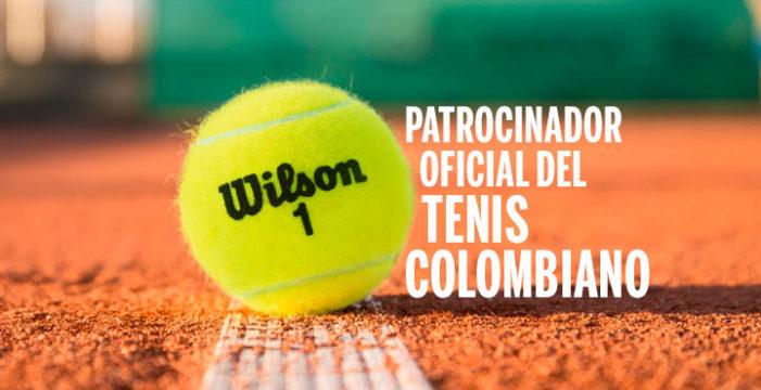 Wilson® se convierte en el nuevo patrocinador del tenis colombiano