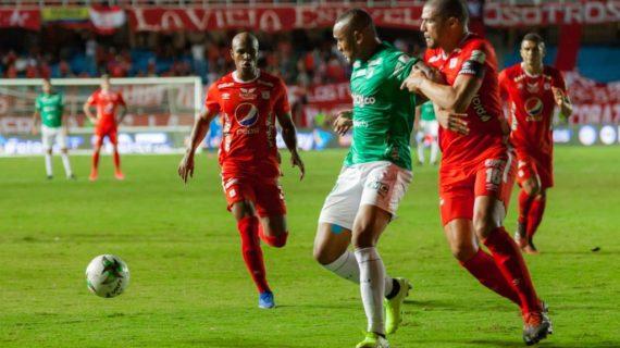 América y Deportivo Cali igualaron 1-1 en el clásico vallecaucano