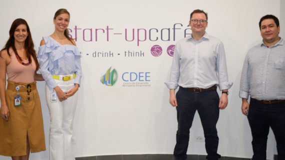 Líder mundial de incubadora de empresas visitó Icesi