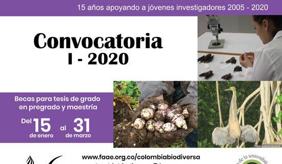 El 31 de marzo se cierra la convocatoria a las becas Colombia Biodiversa