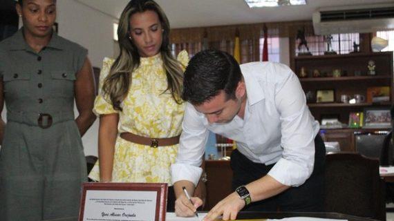 Secretaría de Mujer, Equidad de Género y Diversidad Sexual, e Indervalle, firmaron convenio para capacitar personal en temas de equidad de género y diversidad sexual