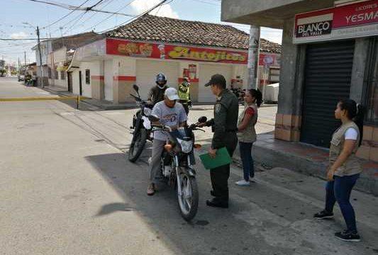 En la primera semana de aislamiento obligatorio 2.659 vallecaucanos fueron sancionados por incumplir la medida