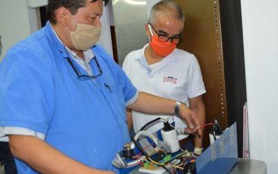 VentyNet, respiradores artificiales modulares, teleoperados
