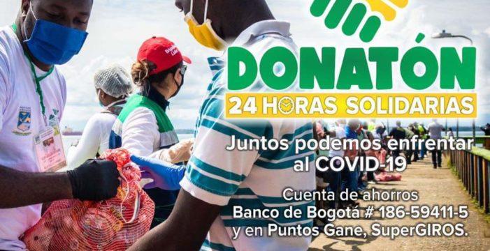 Donatón #BuenaventuraSolidaria 24 horas unidos por nuestro territorio