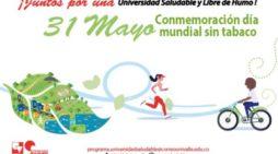 Mayo 31, día mundial sin tabaco