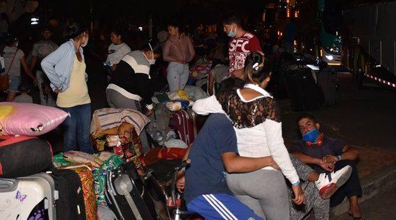 Alcaldía retornó a 2100 venezolanos a su patria