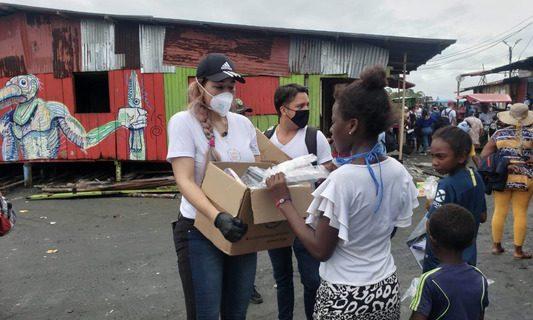 Gobierno departamental lideró jornada humanitaria con las comunidades de Juanchaco, Ladrilleros y La Barra