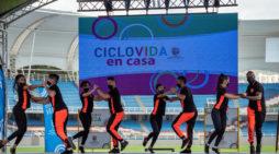 Mulato y su Swing Latino llenaron de acrobacias la Ciclovida de Cali
