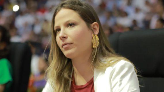 """""""Un concejo sin voz ni voto, es la propuesta del alcalde Jorgen Iván Ospina en el Plan de Desarrollo de Cali"""", dice la concejal Diana Rojas"""