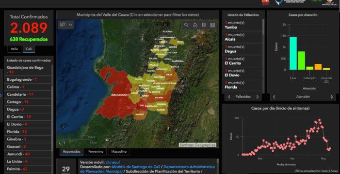 Nueva App para monitorear casos confirmados de COVID-19