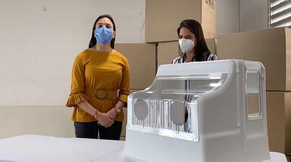 Mabe dona 800 Aerobox para proteger a los profesionales de la salud