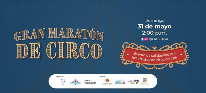 Gran maratón de circo virtual en beneficio de sus artistas