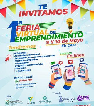 Gobernación realiza la I Feria Virtual de Emprendimiento este fin de semana de homenaje a las madres