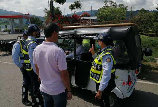 Gobierno departamental refuerza operativos viales para el cumplimiento del aislamiento obligatorio durante puente festivo