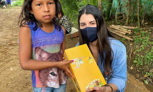 Ayudas humanitarias de la Gobernación del Valle llegaron a indígenas Wounaan en zona rural de Cali