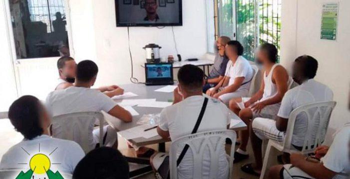 Cine comunitario para los jóvenes del Buen Pastor