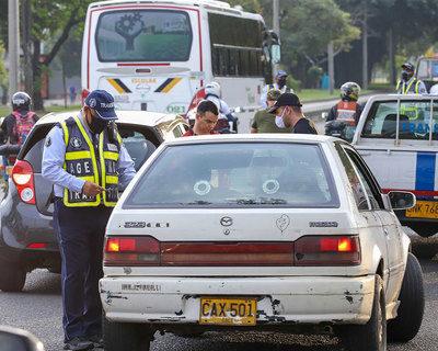 Más de 1.300 infractores de tránsito durante puente festivo