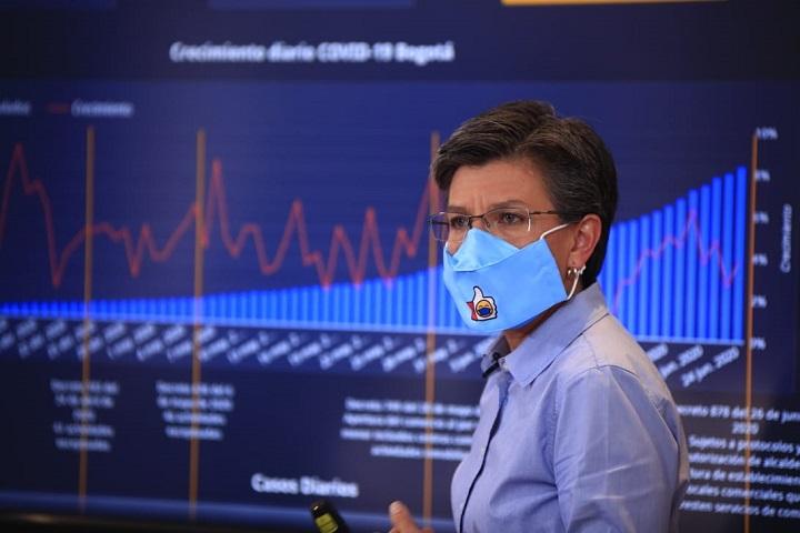 El martes 30 de junio se define con el Gobierno si Bogotá vuelve a cuarentena estricta