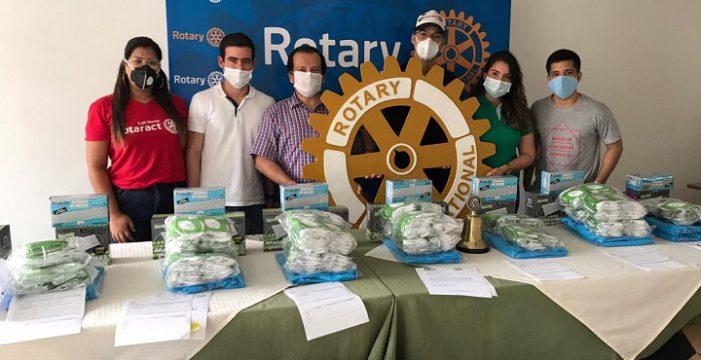 Los clubes rotarios aportan suministros en medio de la pandemia