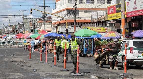 Cordón de protección se activará mañana en plaza de Santa Elena
