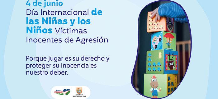 Día Internacional de los Niños, víctimas inocentes de agresión
