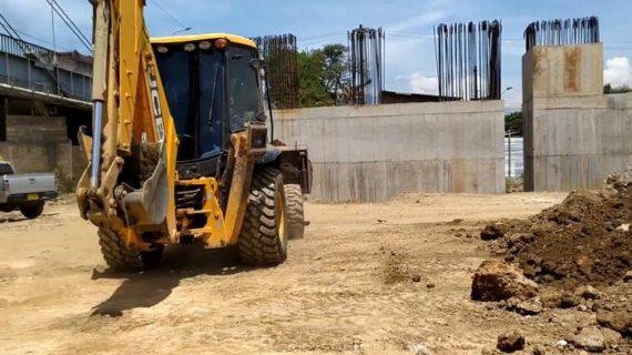 La construcción del nuevo puente de Juanchito avanza en un 44%