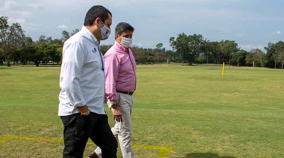 Alcaldía acompañó instalación de protocolos de bioseguridad del Club Farallones