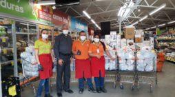 Tiendas ARA sigue aportando mercados en beneficio de niños y habitantes en situación de vulnerabilidad