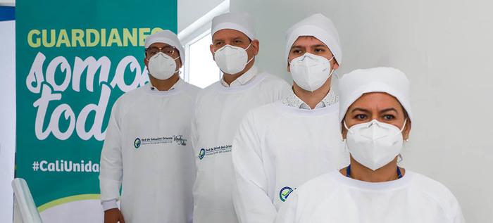 Cali inaugura la primera clínica especializada en pacientes con covid-19