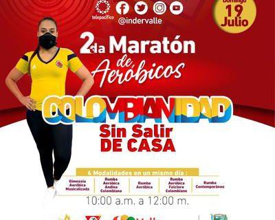 Gobernadora invita a los vallecaucanos a la Segunda Maratón de Aeróbicos 'Sin salir de casa' este domingo 19 de julio
