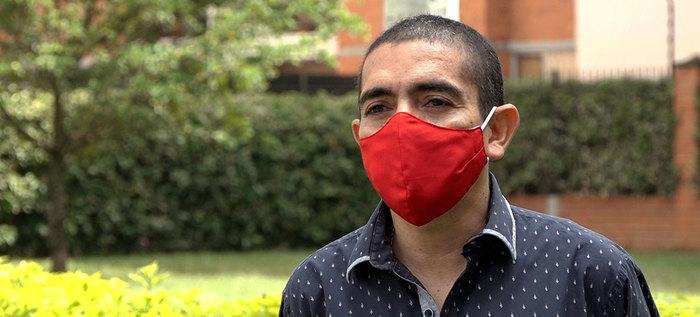 Juan Carlos, un caleño que sobrevivió al COVID-19