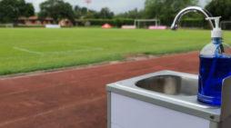 Secretaría del Deporte verificó protocolos de bioseguridad del Club América de Cali