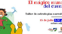 """Taller para docentes: """"El mágico mundo del cuento"""""""