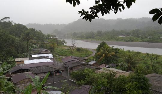 Unión institucional y comunitaria por los recursos naturales de la cuenca del río Naya