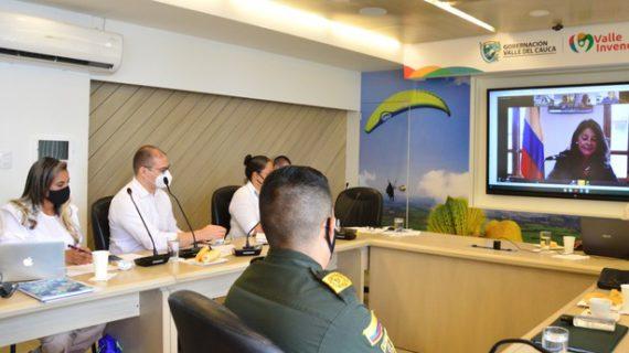 Vicepresidenta de la República destacó acciones para brindar protección y garantías a las mujeres en el Valle del Cauca