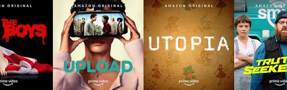 Amazon Prime Video anuncia cuatro paneles en comic-con @ home