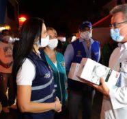 Caravana por la vida, un homenaje al personal de salud