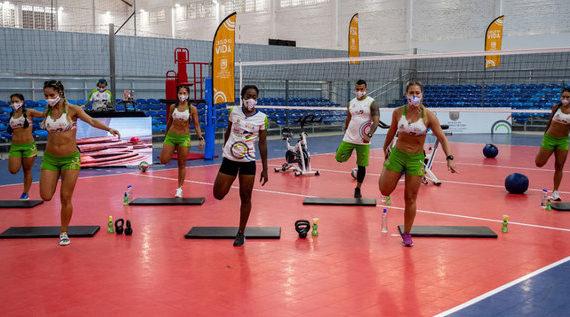 La campeona de patinaje Johana Viveros, espera integrar de nuevo la Selección Colombia