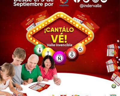Los vallecaucanos ya pueden adquirir las tablas para jugar el Bingo 'Cantálo Vé', Valle Invencible