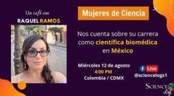 Miércoles de café y ciencia con Raquel Ramos