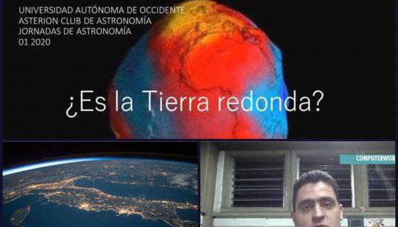 ¿Es la Tierra redonda?, y otras reflexiones del Club de Astronomía Asterión