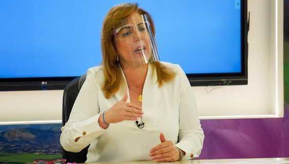 La gobernadora Clara Luz Roldán habla sobre el diagnóstico de cáncer que le hicieron en la Clínica Imbanaco