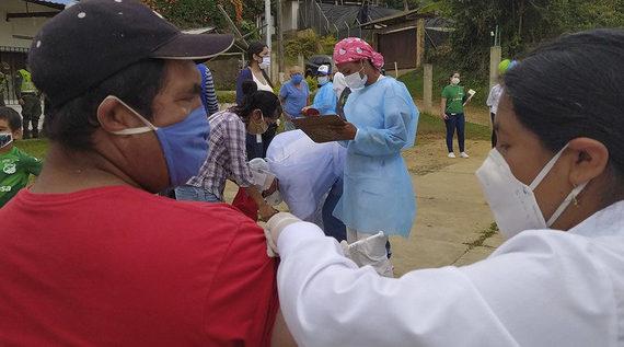 Jornada especial de vacunación en zona ladera, este fin de semana