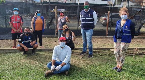 Huertas por la Vida y barrismo social para eliminar estigmas en Mariano Ramos