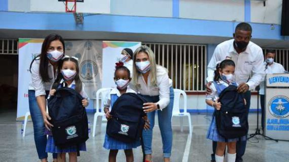 Más de 6 mil estudiantes de Pradera recibieron kits escolares